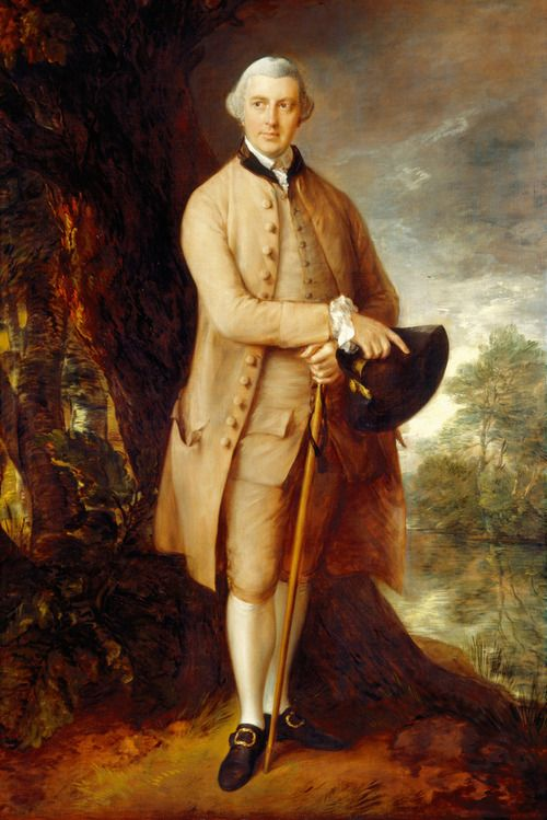 Thomas Gainsborough. William Johnstone-Pulteney, Later 5th Baronet, 1772.
