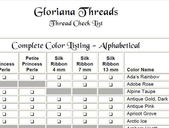 Embroidery Thread Conversion Chart Erkalnathandedecker