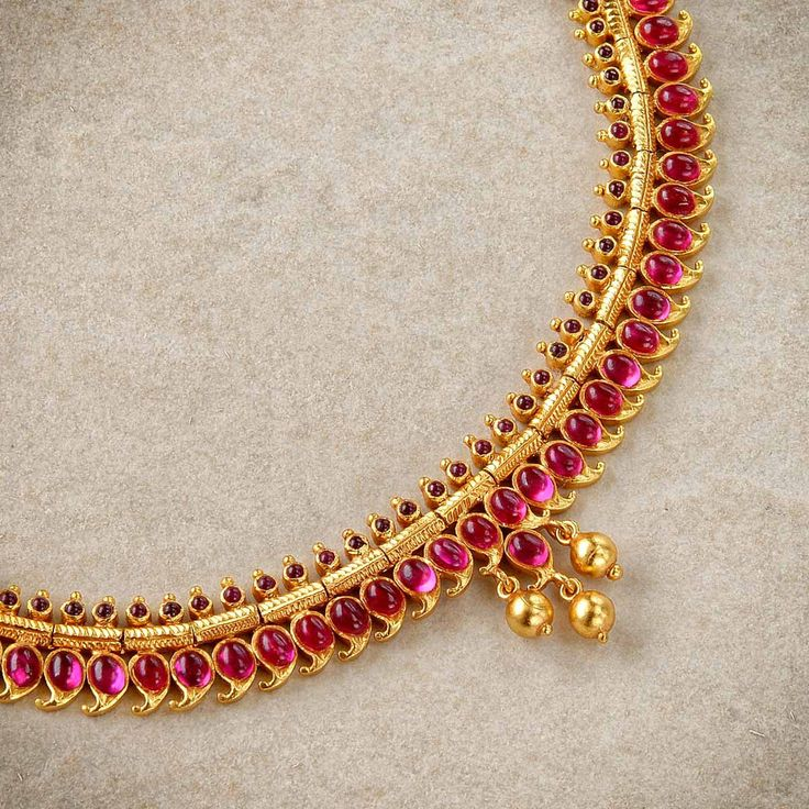 How much do you think this costs? Ruby Necklaces