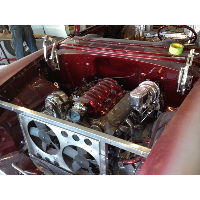 Ls6 Engine For Sale: 55 Chevy Total Upgrade LS Motor