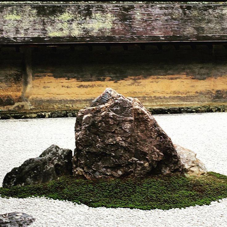 #buddhism #temple #kyoto #japan #zen #rockgarden #ryoanji #ryoanjitemple