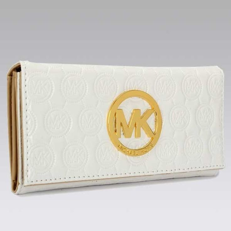 MICHAEL Michael Kors Jet Set Continental white Wallet
