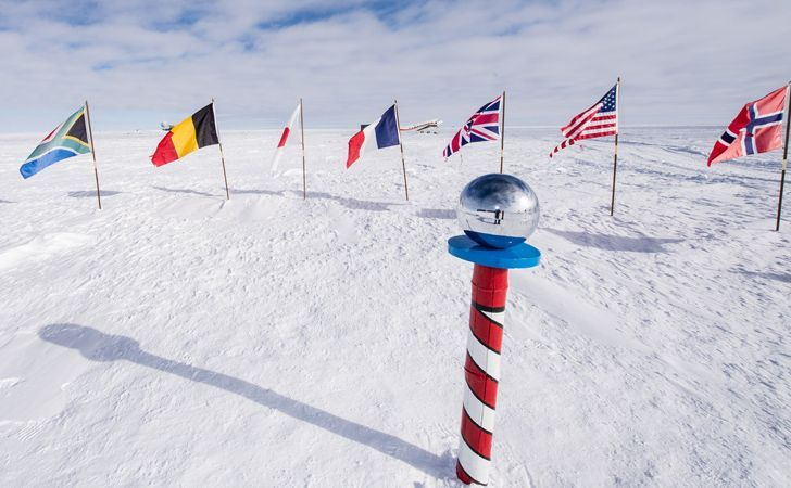 There Is No Specific Time Zone At The South Pole Coldest Place