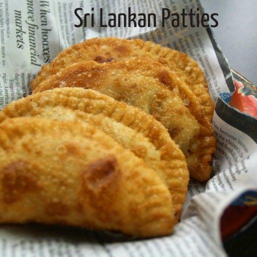 Sri Lankan Patties