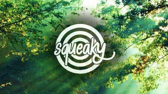 Squeaky logo