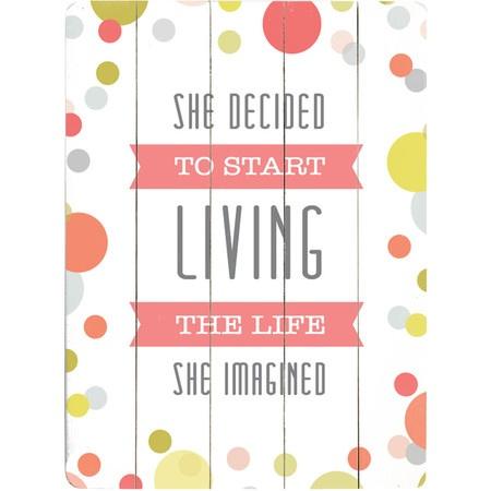 The Life She Imagined Wall Art
