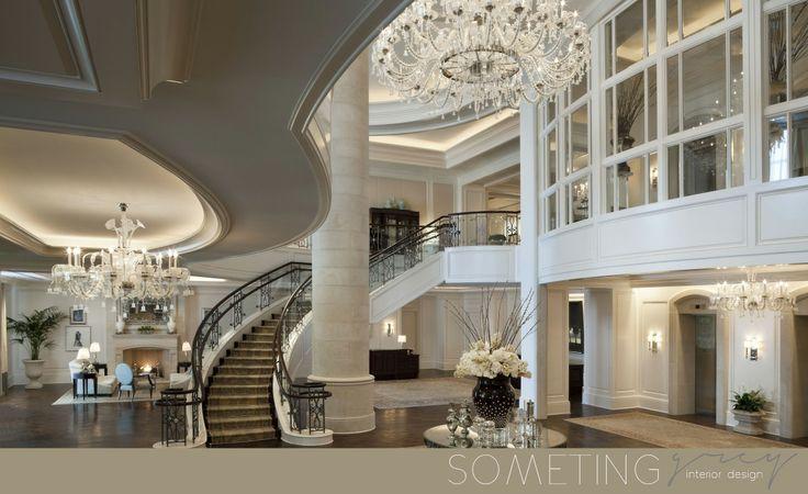 Elegant lobby design