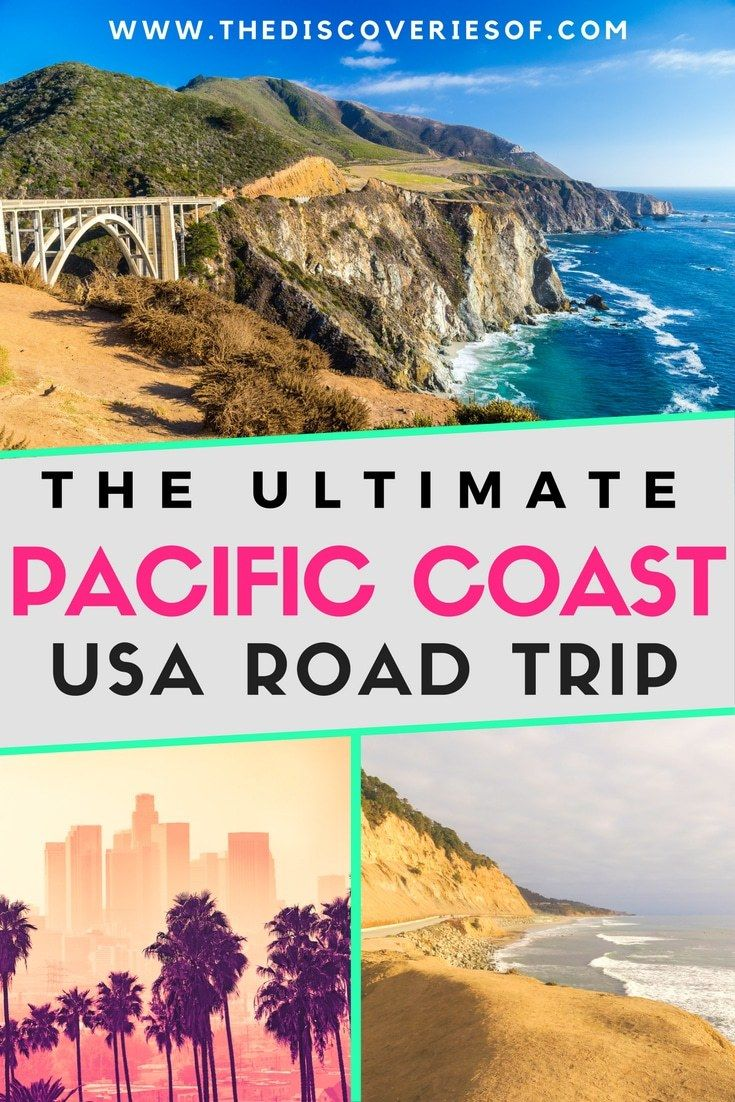 Planning a West Coast USA road trip? This 7,000+ word guide tells you EVERYTHING you need to know about a Pacific Coast Highway or Highway 1 road trip. Starting in California, winding through Oregon to Washington - an itinerary with places to visit, best destinations, stops, tips + places to stay. #travel #usa #roadtrip