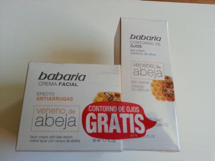 Babaria Bee Sting Venom Anti Ageing Cream 50ml + free Eye Cream 15ml * OFFER * - Gemstone Trading