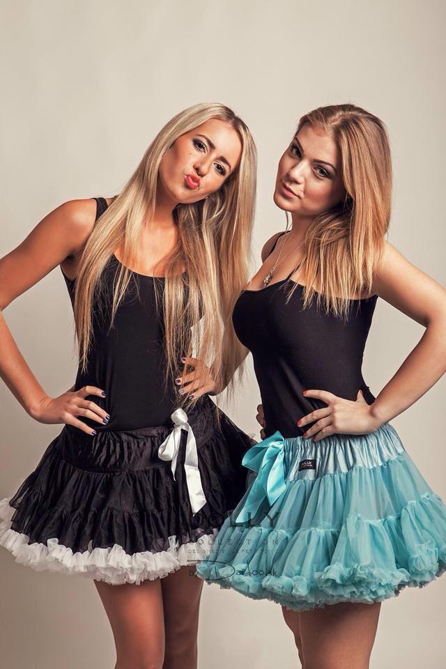 DOLLY skirts Tiffany and Black Beauty