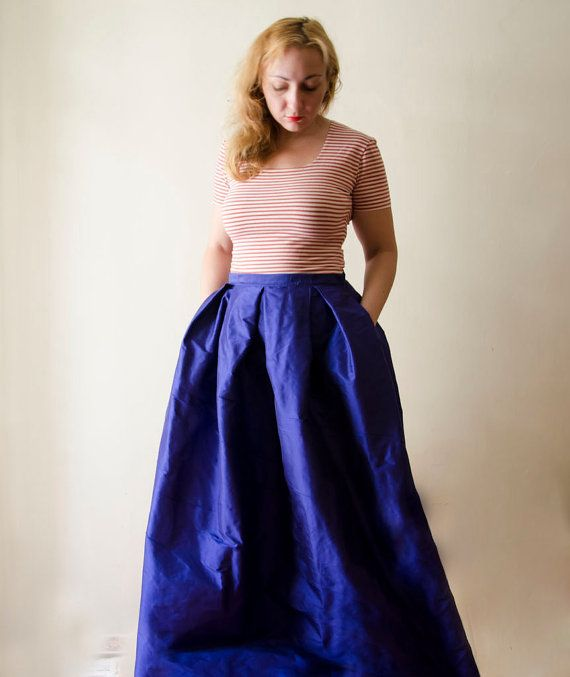 17 Best ideas about Blue Maxi Skirts on Pinterest | Blue maxi ...