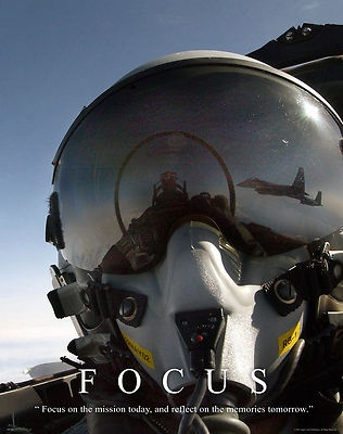Focus MILT28 US Navy Air Force Jet Motivational Poster US Military Poster | eBay