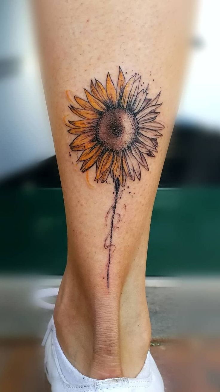 Celebrate the Beauty of Nature with these Inspirational Sunflower Tattoos