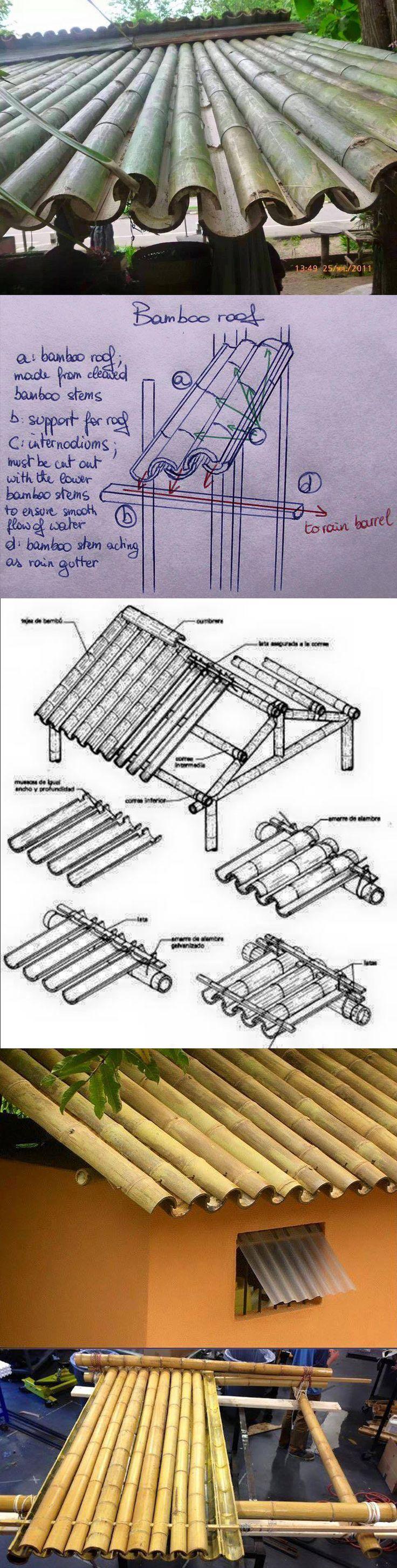 Telhado de bambu/Bamboo Roof