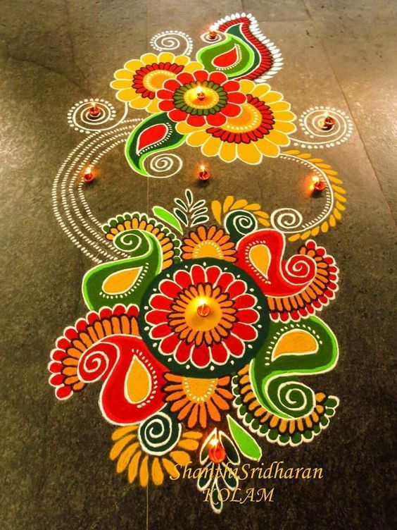 Beautiful Rangoli designs