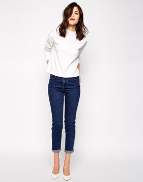 Warehouse Skinny Mom Jean