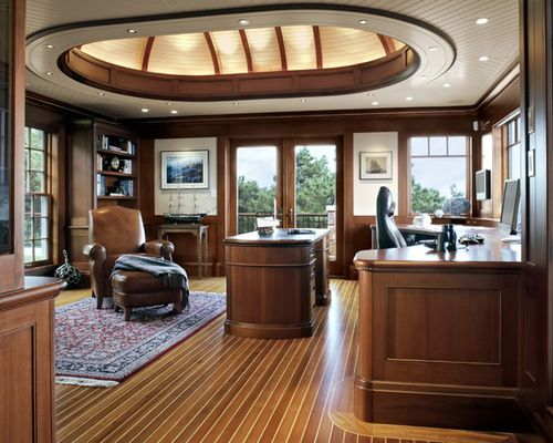 Teak And Holly Home Design Ideas, Pictures, Remodel And Decor · Nautical  OfficeOffice ...