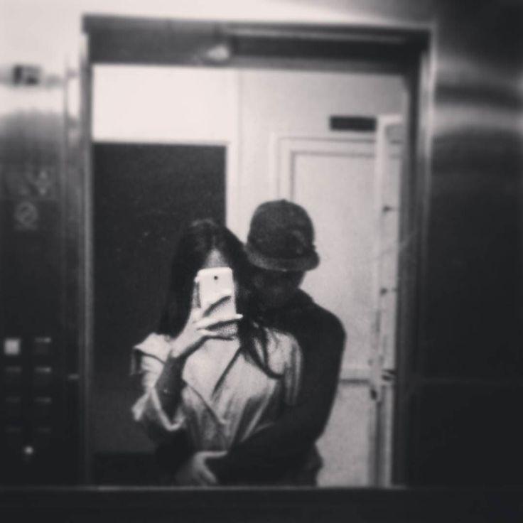 . . #couples #tumblr #tumblrcouple #blackandwhite #Love #mirror #loveinthemirror #vscocam