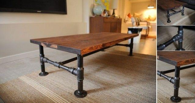 Best 25+ Industrial coffee tables ideas on Pinterest ...