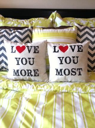 These adorable pillows will make you love getting into bed at night.