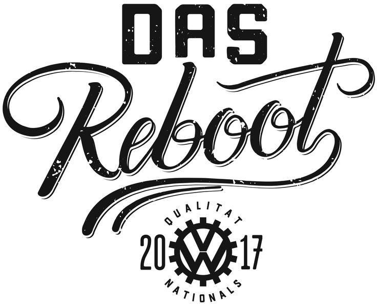Event Logo. Event material from the 2017 New Zealand Volkswagen Nationals in Wellington.