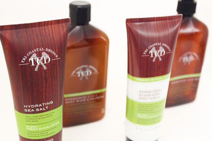 Our Woodsman Collection with fresh earthy fragrance for a man