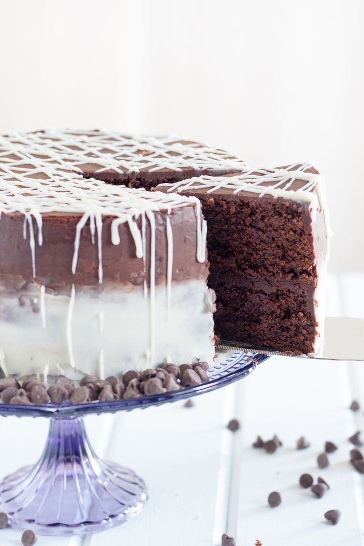 No boiling water required! This PERFECT chocolate cake recipe is moist, rich, and most importantly... chocolaty.