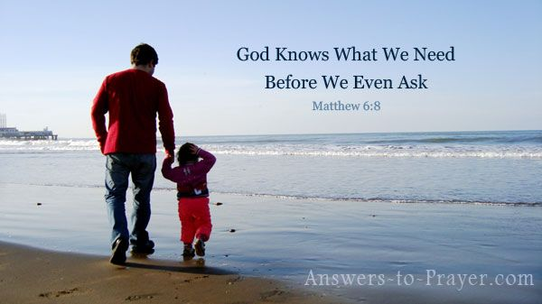 God knows what we need before we even ask (Matthew 6:8).  Just because God knows our innermost desires doesn't mean we don't need to ask Him for it. The Lord enjoys our intimacy with Him. He wants us to personally talk to Him. He wants us to have faith in Him. He wants us to believe with our whole hearts that through Him and Him alone, our desires can be fulfilled.