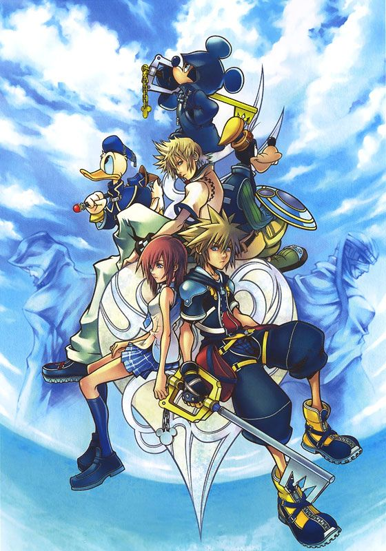 Kingdom Hearts | Square Enix | Disney Interactive Studios / Kingdom Hearts II Promotional Art