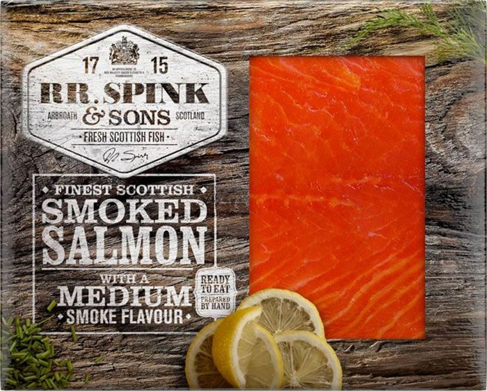 RR Spink & Sons smoked salmon