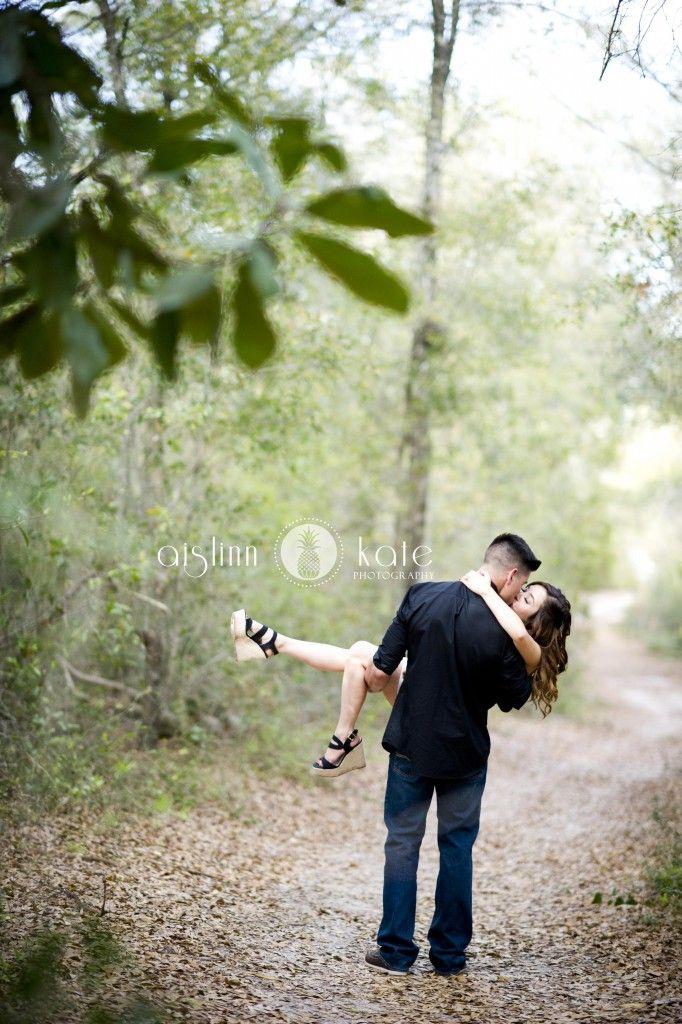 Engagement portraits  |  Romantic photos  |  Woods  |  Aislinn Kate Photography  |  Pensacola Photographer