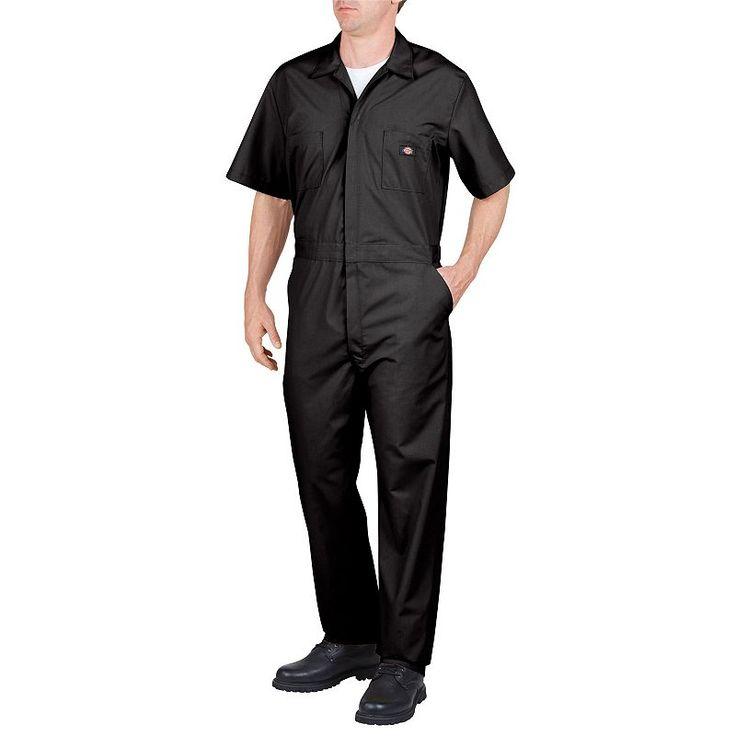 Big & Tall Dickies Coverall, Men's, Size: Xl Tall, Black