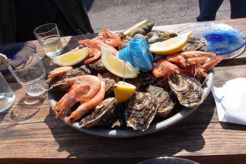 Ferienwohnung H7 'mers du sud' in Gruissan - Les Ayguades, Languedoc-Roussillon, Frankreich - Meeresfrüchte