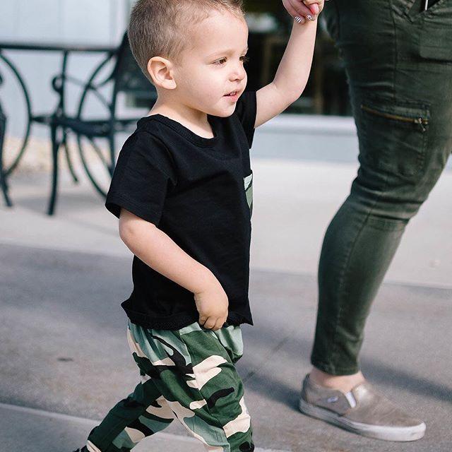 little man in camo! Love cute little boy outfits