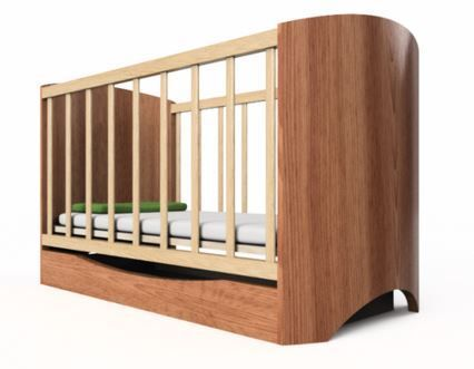 Simple baby cot by Damian Mazurek Program: Fusion 360  Work time: ca. 70 min Render: Online, Normal, ca. 10 min/pic
