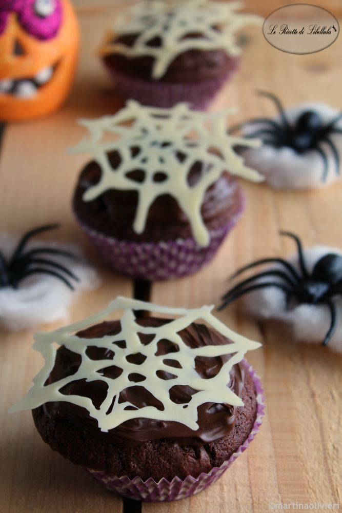 #Spider #Muffin ‪#‎ricetta‬ ‪#‎foodporn‬ ‪#‎gialloblogs‬ #halloween #chocolate