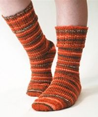 FREE PATTERNS--loom knitting---Socks