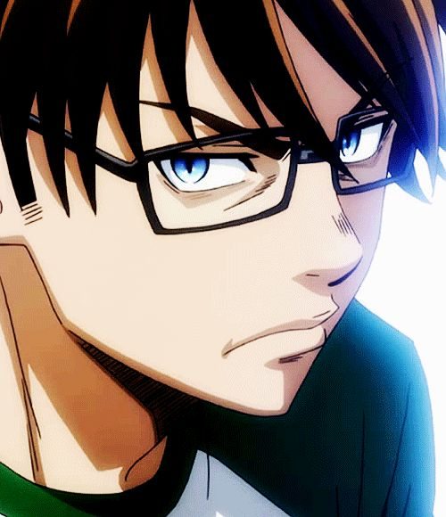 Anime Characters With Glasses : Best ace of diamond images on pinterest