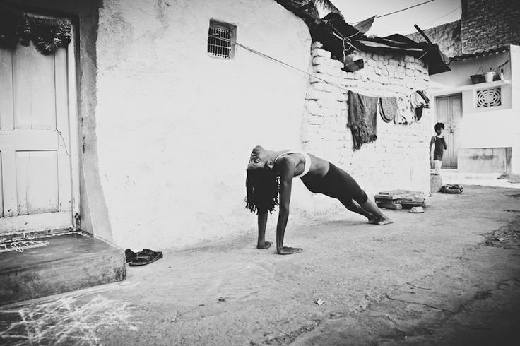 Street yoga photography. My kinda yoga.