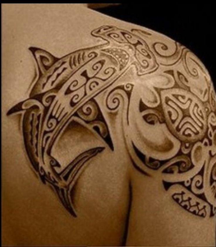 Tatouage requin tribal - Tribal Tattoo