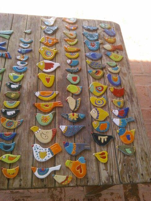 Aves cerámica EB!!!