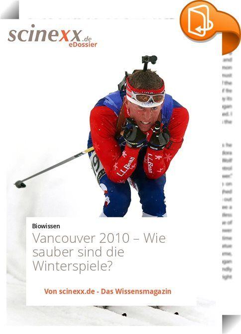 """Vancouver 2010    ::  Am 12. Februar 2010 war soweit: die XXI. Olympischen Winterspiele im kanadischen Vancouver wurden eröffnet. Zwei Wochen lang werden sich hier Wintersportler aus aller Welt in verschiedensten Disziplinen vom Skilanglauf und Biathlon über Snowboarding, Eisschnelllauf bis hin zum Curling messen. Die Erwartungen sind hoch - auch an die Gastgeber. Die grünsten Spiele, die es je gab: so preist das Organisationskomitee """"seine"""" Olympiade. Tatsächlich findet die Großverans..."""