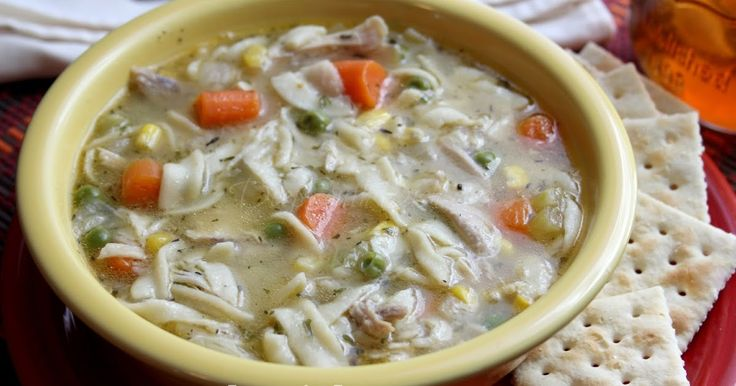 Deep South Dish: Pressure Cooker Chicken Noodle Soup