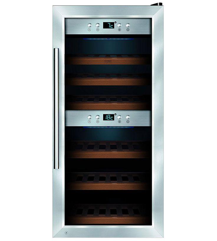 24-Bottle Wine Storage Refrigerator Cooler    #wine #winelovers #winestorage #winesnobs #refrigerator #foodstorage #winecollector
