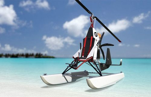 Fliege – Supergiro Sprtgyrocopter By Daniel Kocyba  Your personal floating helicopter for days out down the beach ... Why not?