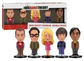 Funko Big Bang Theory: Mini Wacky Wobbler Set, 5 Pieces