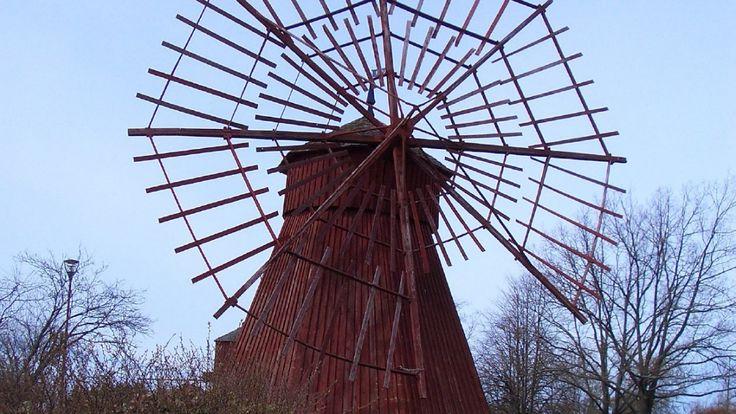 Windmill in Uusikaupunki, Finland
