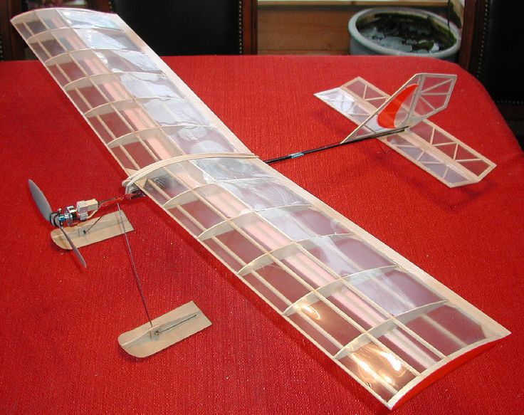 "The Light Stik B, 36"" wing span #balsa #electric #RC"