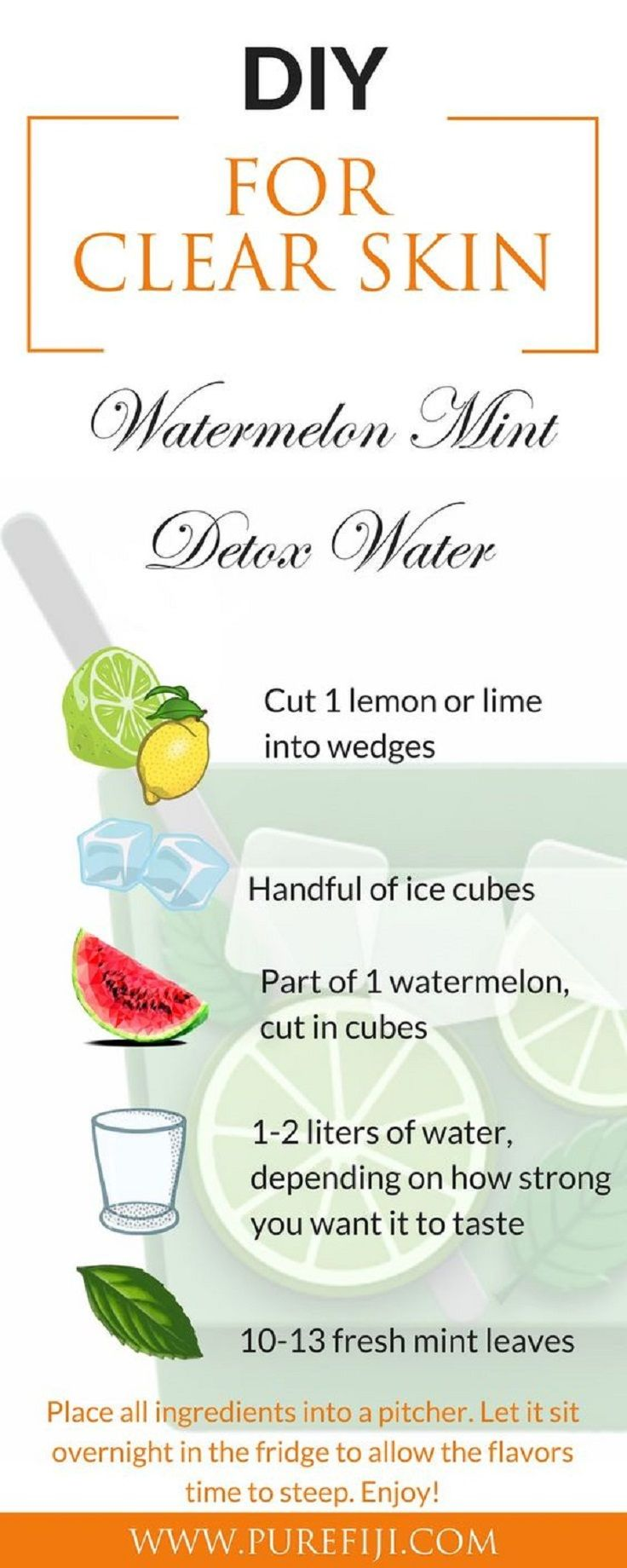 Detox Water For Healthy And Glowing Skin Summer Skin Care Routine 11 Best Diy Home Remedies Tips Summer Skincare Routine Detox Water Healthy Detox Cleanse