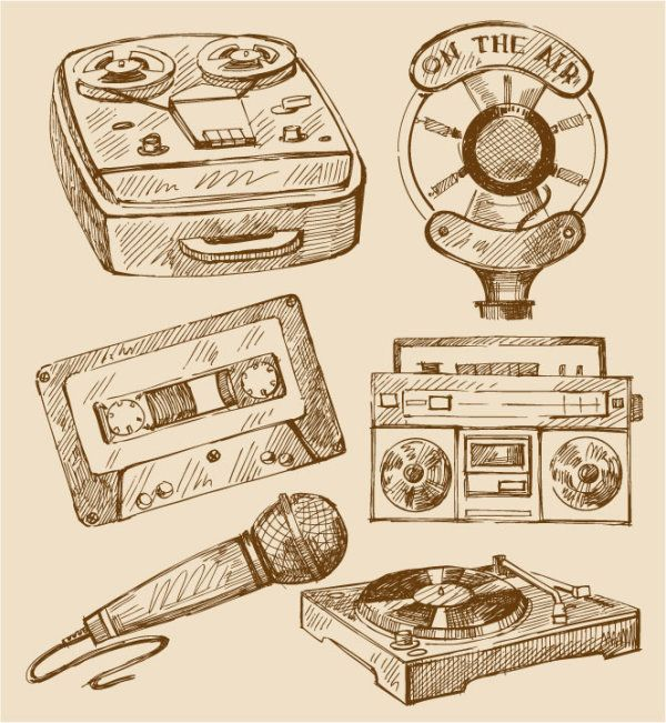 Audio version of device vector material | Vector appliances